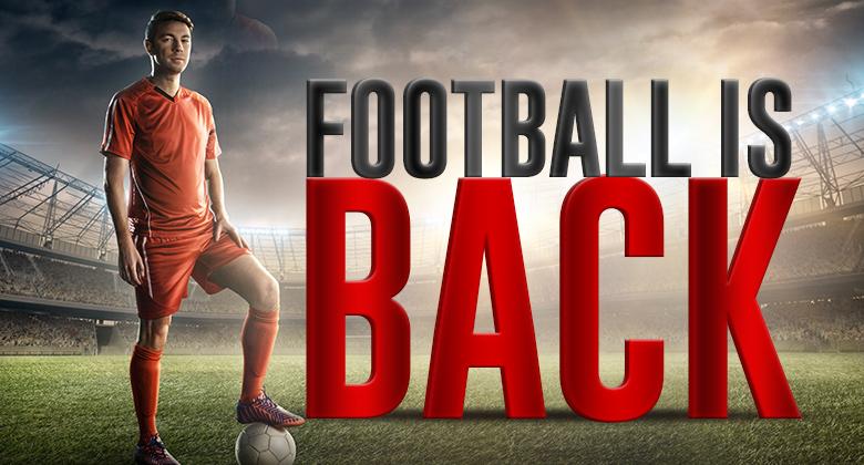 Fuzbal je nazaj!